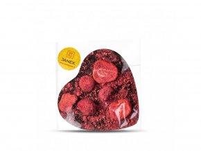 525 horke cokoladove srdce 64 procent s jahodou a malinou cokoladovna janek jpg