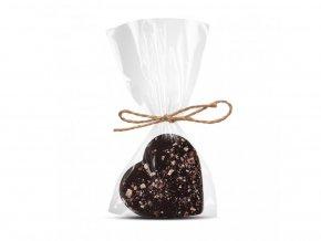 158 2 horke cokoladove srdicko 64 procent s liskovym orechem a ostruzinou cokoladovna janek