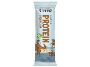 Protein bar BIO vanilla mockup web