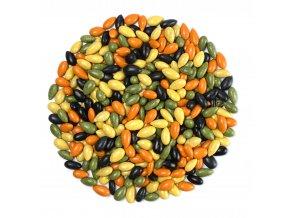 Slunečnice v barevné čokoládě