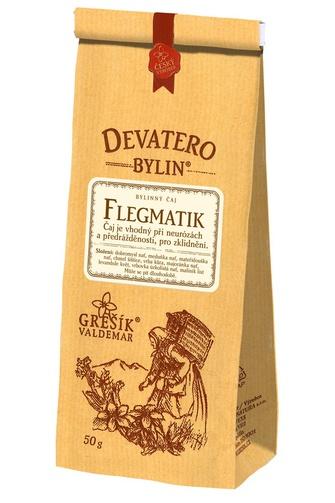 GREŠÍK Čaj Devatero bylin Flegmatik 50 g