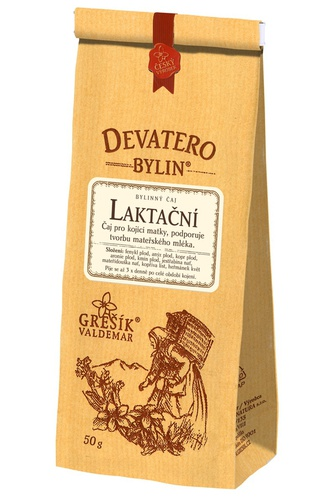 GREŠÍK Čaj Devatero bylin Laktační 50 g