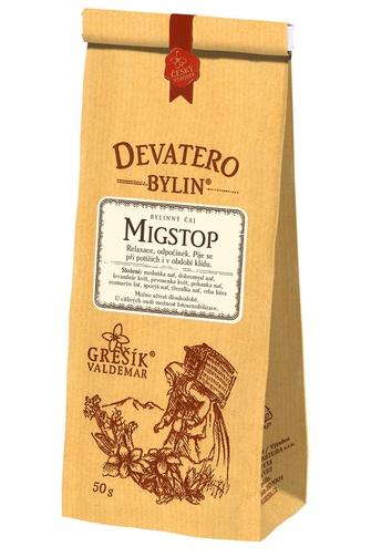 GREŠÍK Čaj Devatero bylin Migrenal (Migstop) 50 g