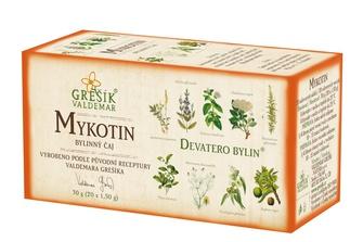 GREŠÍK Čaj Devatero bylin Mykotin 20 n.s.