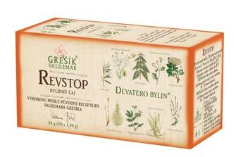 GREŠÍK Čaj Devatero bylin Revmatin (Revstop) 20 n.s.