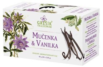 GREŠÍK Ovocný čaj Mučenka & Vanilka 20 n.s.