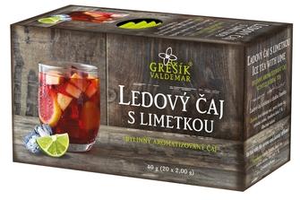 GREŠÍK Ledový čaj s limetkou 20 n.s.