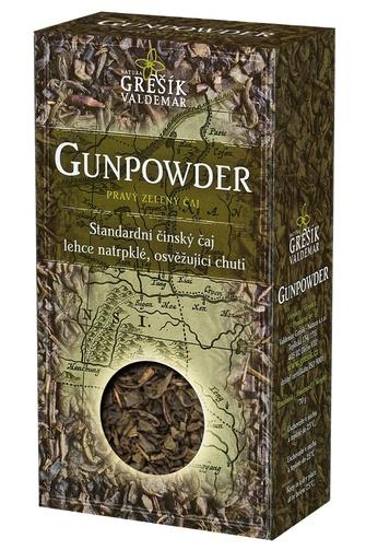 GREŠÍK Čaje 4 světadílů Gunpowder z.č. 70 g