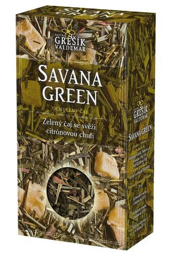 GREŠÍK Čaje 4 světadílů Savana Green z.č. 70 g
