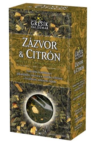 GREŠÍK Čaje 4 světadílů Zázvor & Citrón z.č. 70 g