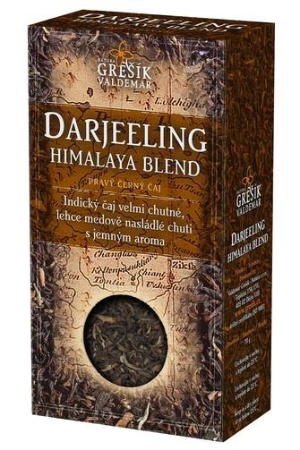 GREŠÍK Čaje 4 světadílů Darjeeling Himalaya Blend č.č. 70 g