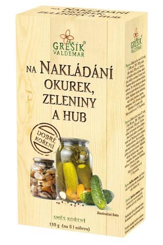Levně GREŠÍK Dobré koření Na nakládání okurek, zeleniny a hub 110 g