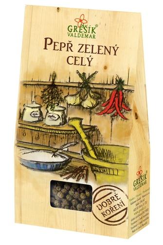 GREŠÍK Dobré koření Pepř zelený celý 15 g