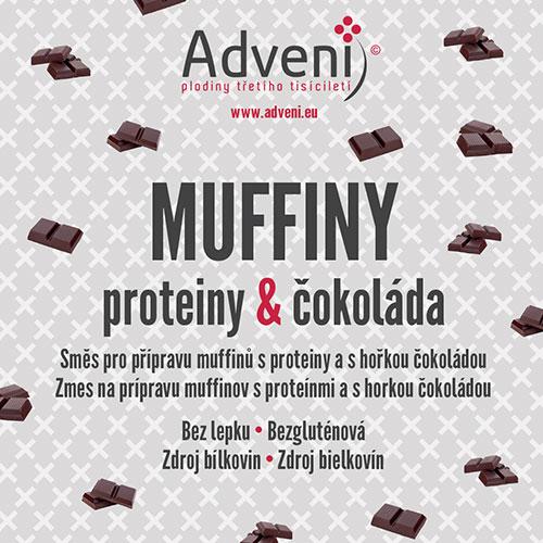 ADVENI Muffiny proteiny & čokoláda 280 g
