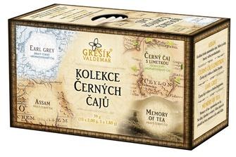 GREŠÍK Kolekce Černých čajů 4x5ks