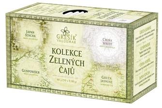 GREŠÍK Kolekce Zelených čajů 4x5ks