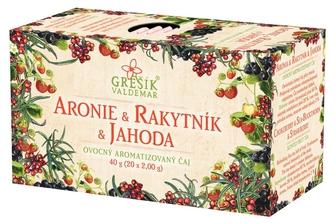GREŠÍK Aronie & Rakytník & Jahoda 20 n.s.