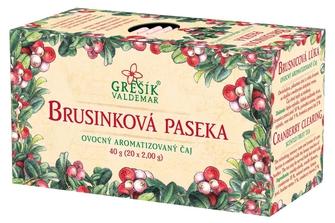 GREŠÍK Brusinková paseka 20 n.s. Ovocný čaj