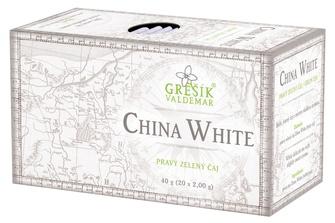 GREŠÍK China White Zelený čaj 20 n.s.