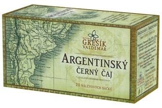 GREŠÍK Argentinský černý čaj 20 n.s.