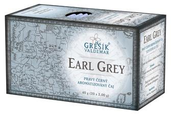 GREŠÍK Earl Grey 20 n.s. Černý čaj