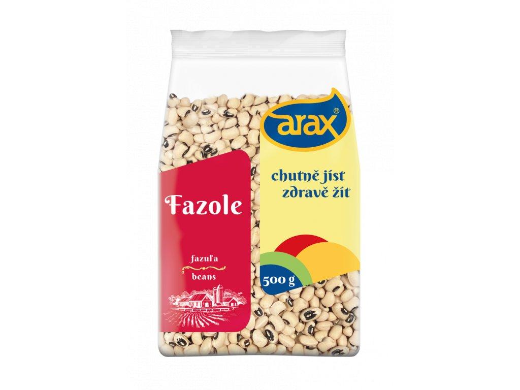 ARAX Fazole černé oko 500 g