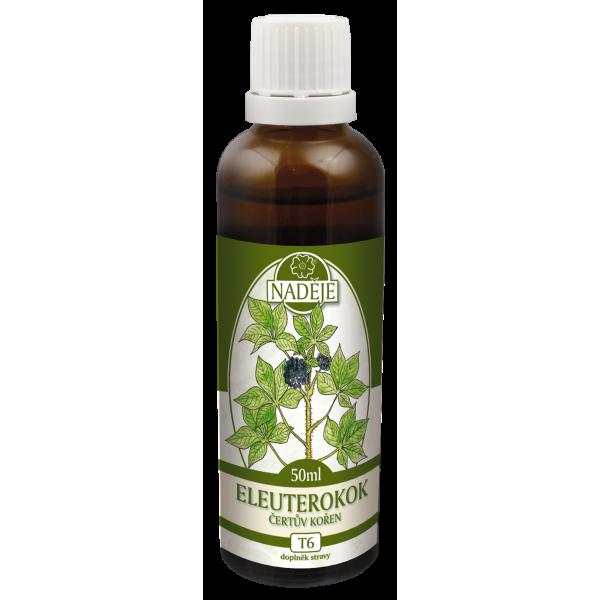 Naděje-byliny NADĚJE-PODHORNÁ Tinktura z bylin - Eleuterokok - čertův kořen 50 ml