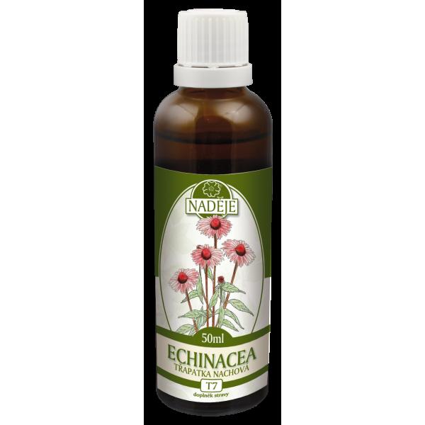 Naděje-byliny NADĚJE-PODHORNÁ Tinktura z bylin - Echinacea - purpurea 50 ml