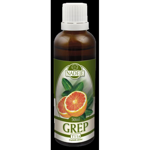 Naděje-byliny NADĚJE-PODHORNÁ Tinktura z bylin - Grapefruit 50 ml
