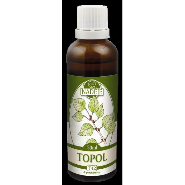 Naděje-byliny NADĚJE-PODHORNÁ Tinktura z bylin - Topol 50 ml
