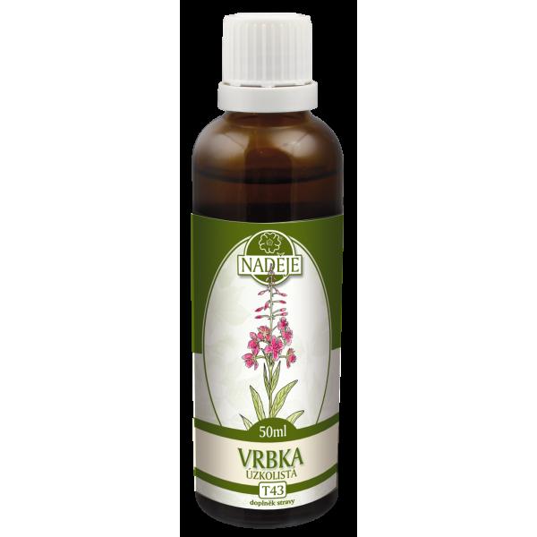 Naděje-byliny NADĚJE-PODHORNÁ Tinktura z bylin - Vrbka úzkolistá 50 ml