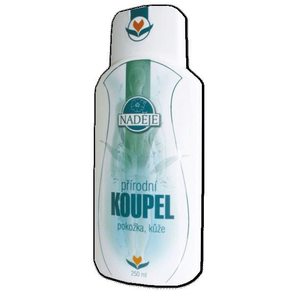 Naděje-byliny NADĚJE-PODHORNÁ Přírodní koupel - pokožka, kůže 250 ml