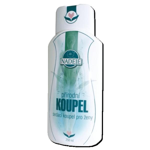 Naděje-byliny NADĚJE-PODHORNÁ Přírodní koupel - pro ženy 250 ml