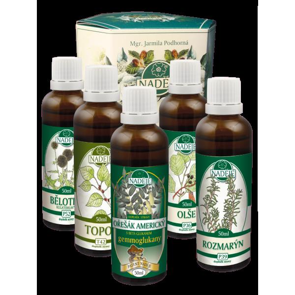 Naděje-byliny NADĚJE-PODHORNÁ Kůra pro posílení a podporu detoxikace - pokračovací 250 ml