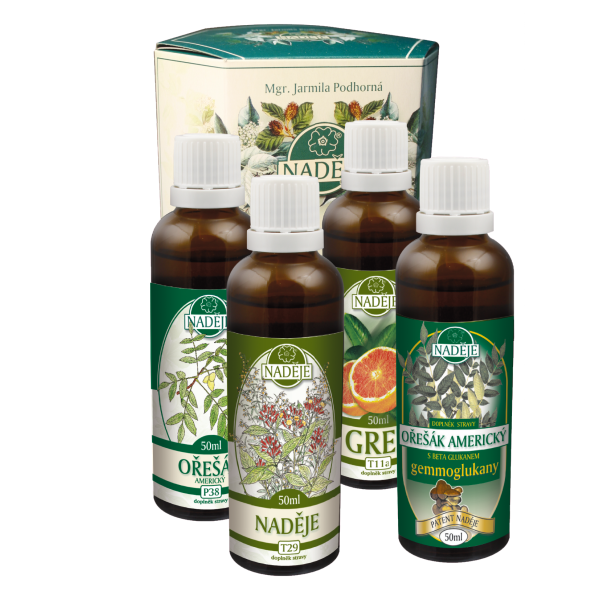 Naděje-byliny NADĚJE-PODHORNÁ Kůra pro podporu očisty organismu 200 ml
