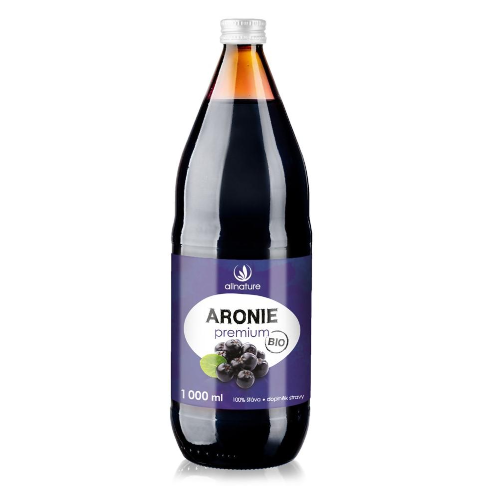 Allnature, s.r.o. Allnature Aronie Premium BIO 1000 ml