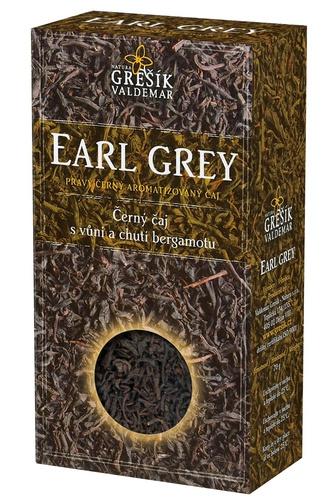 GREŠÍK Earl grey Čaje 4 světadílů krab. 70 g