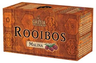 GREŠÍK Rooibos Malina 20 n.s.