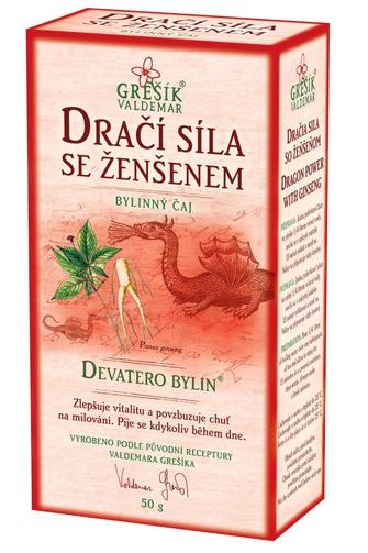 GREŠÍK Dračí síla 50 g Devatero bylin