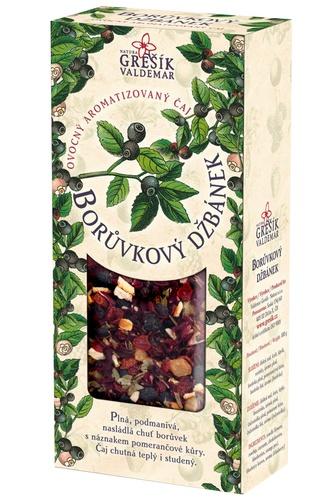 GREŠÍK Borůvkový džbánek Ovocný čaj krab. 100 g