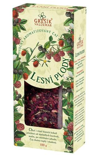 GREŠÍK Lesní plody Ovocný čaj krab. 100 g
