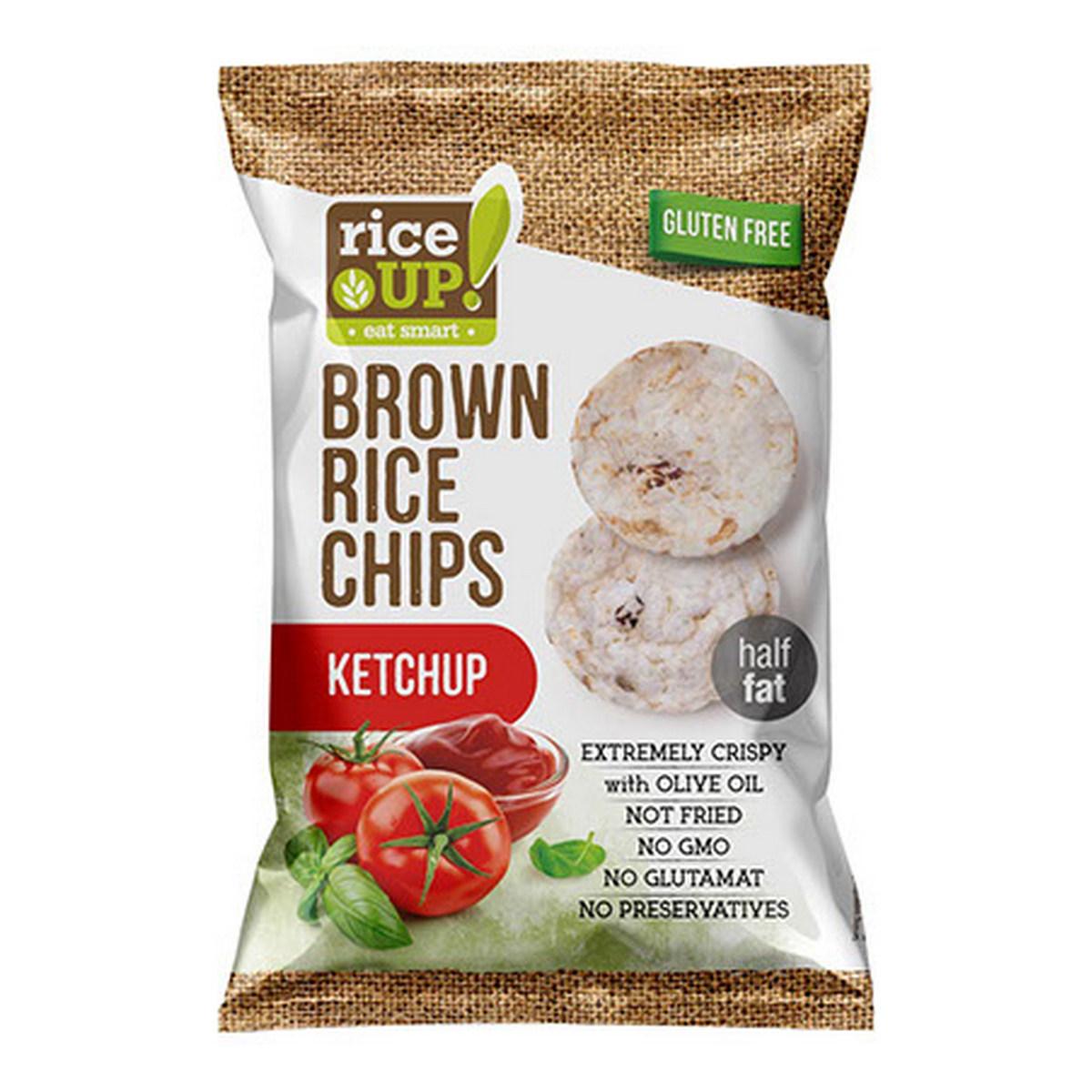 Rice UP Rýžové chipsy kečup 60 G