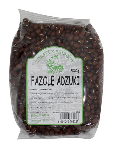 Zdraví z přírody Fazole Adzuki 500g