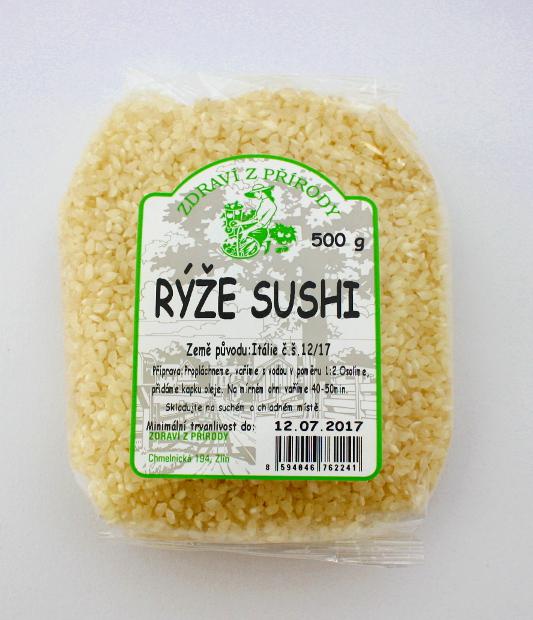 Levně Zdraví z přírody Rýže sushi 500g