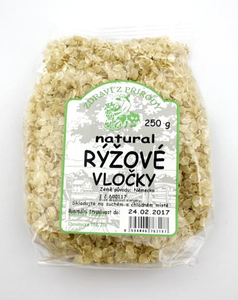 Zdraví z přírody Vločky rýžové EKO 250g