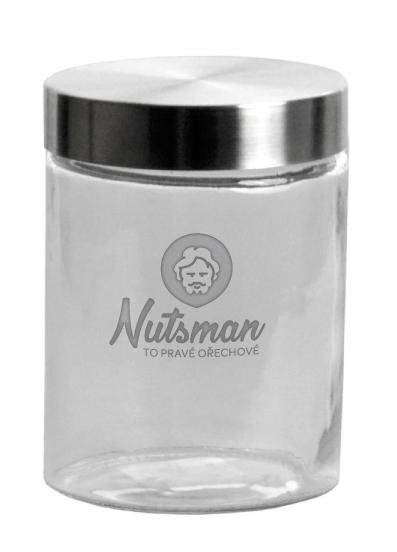 Nutsman skleněná dóza 1,3 l - nejvyšší kvalita zaručena