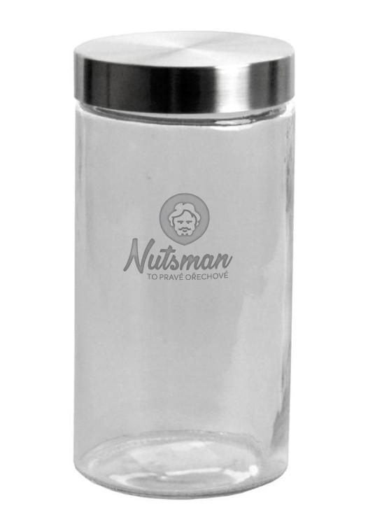 Nutsman skleněná dóza 2,1 l - nejvyšší kvalita zaručena