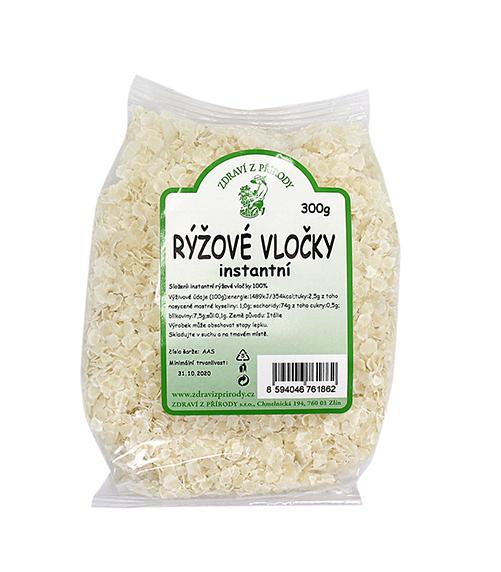 Zdraví z přírody Vločky rýžové inst. 300g