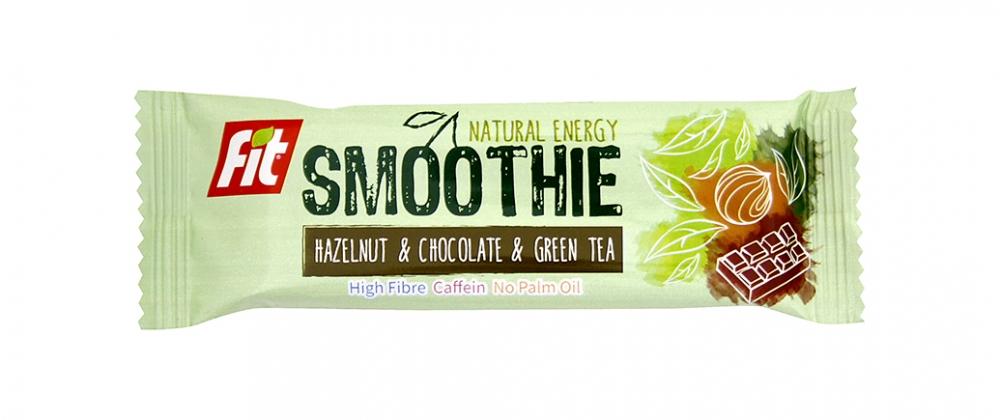 Fit SMOOTHIE lískové ořechy+čokoláda+zelený čaj 32g