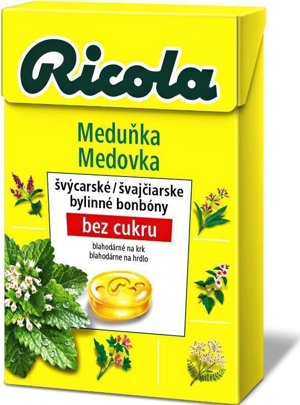 Ricola Drops meduňka 40g